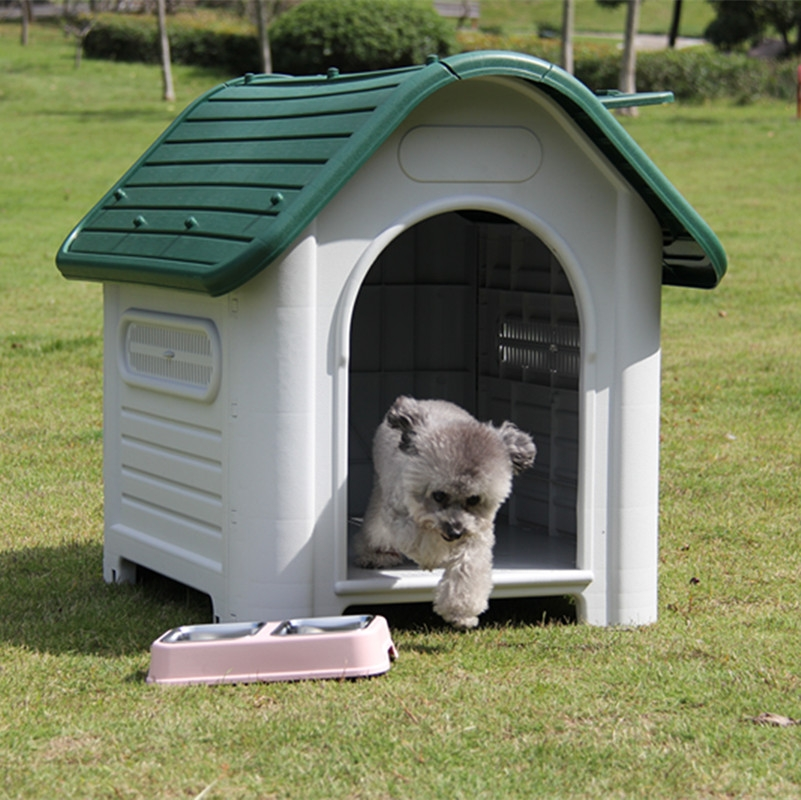plastic-Outdoor-Dog-Kennels