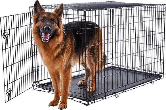 Dog Crates Metal German shepherd husky mix