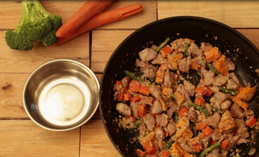 Turkey & Vegetable Dinner