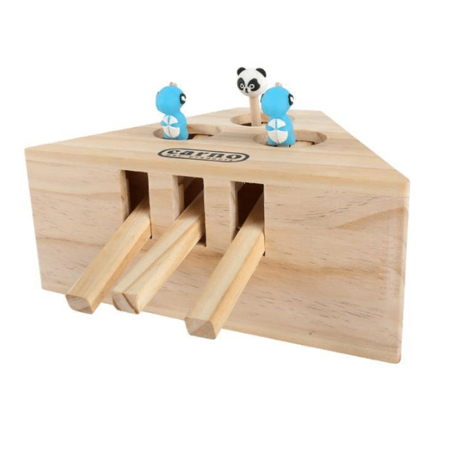 Wooden Cat Whack Toy